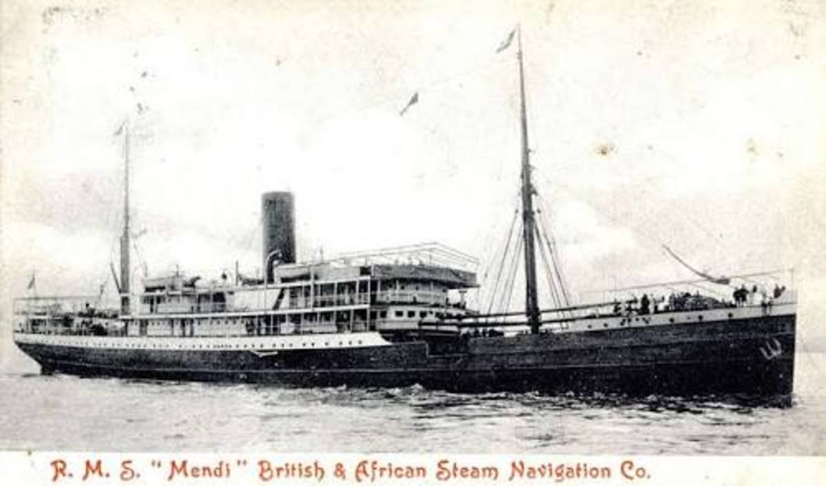 Concealed  World War Tragedy - the SS Mendi Disaster