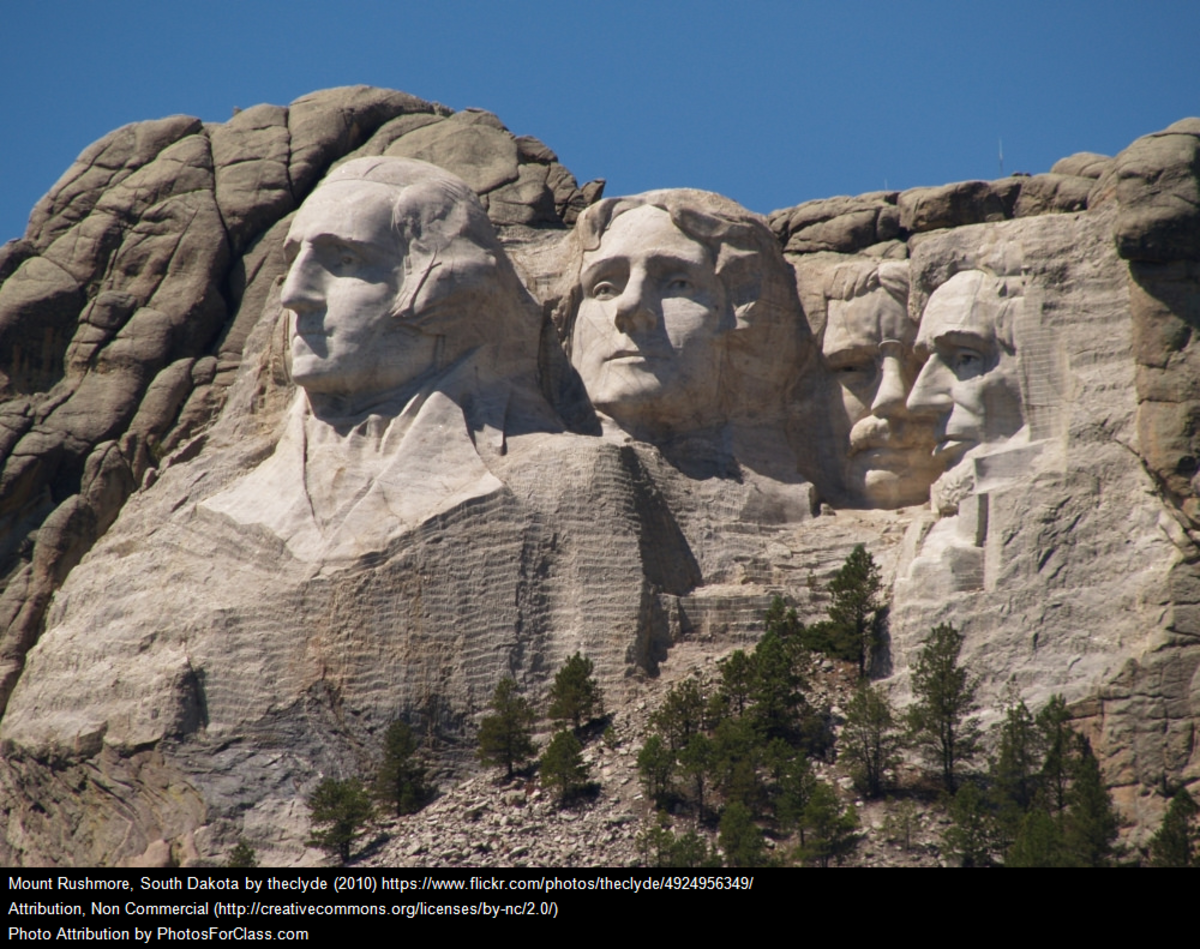 Mount Rushmore South Dakota by theClyde