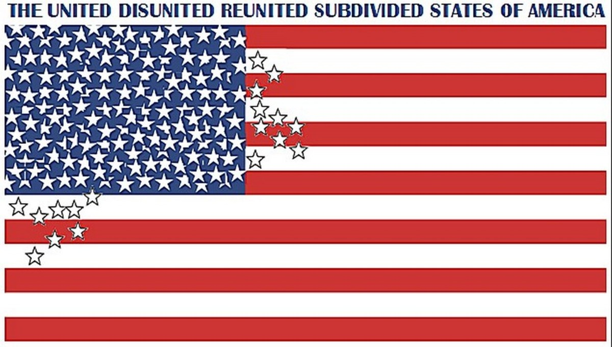 Don't laugh, we coulda had a 124-star flag already