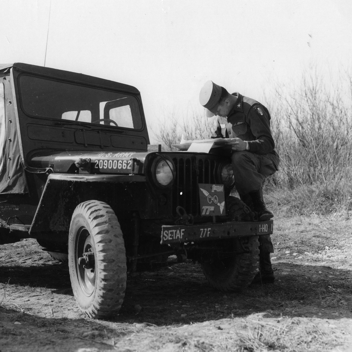 Jeep - United States Army Southern European Task Force (SETAF)