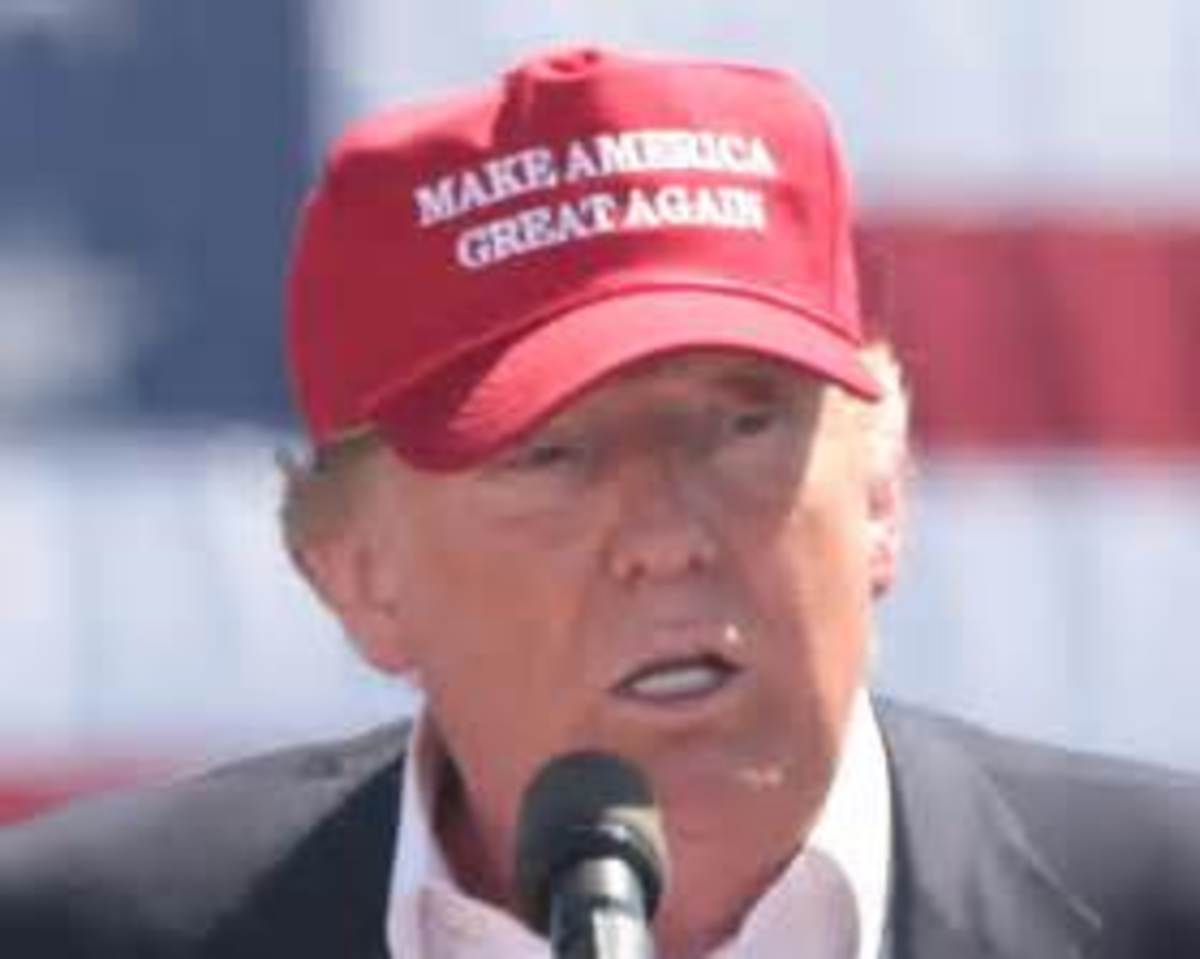 Trump's campaign slogan was Make America Great Again
