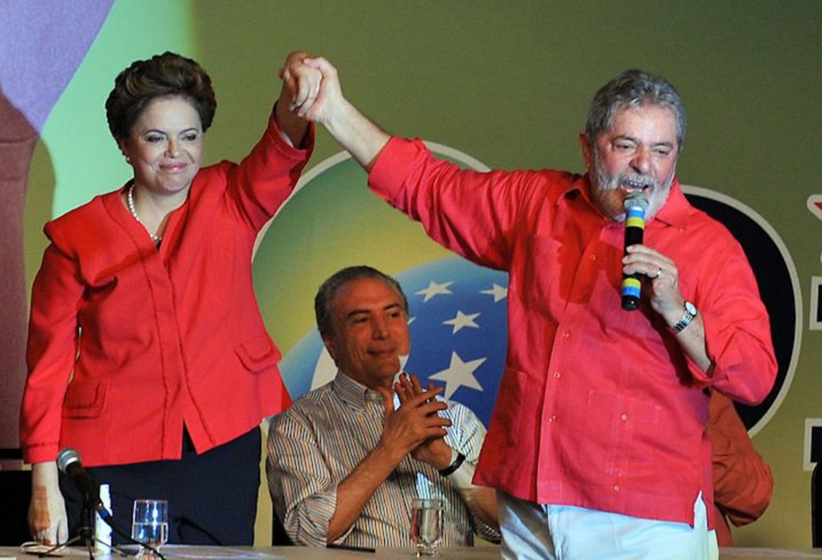 Dilma Roussef, Michel Temer, Lula