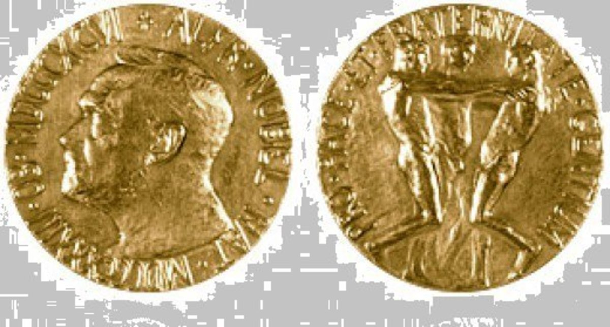 The Nobel Prize - Front (L) Back (R)