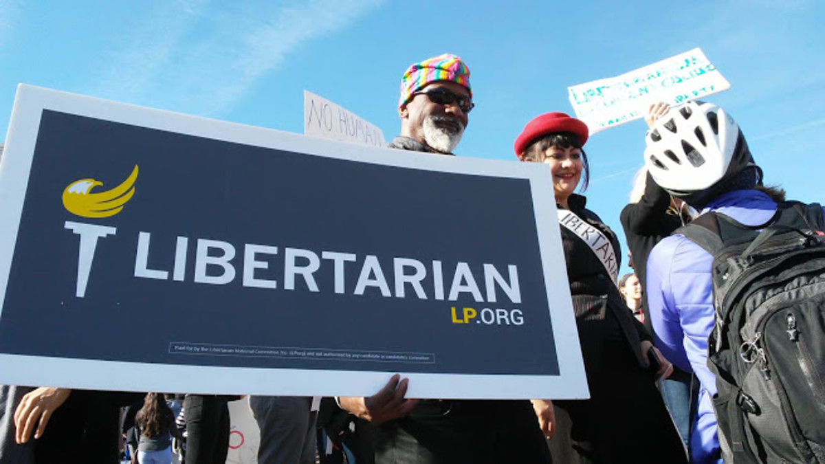 What Is a Libertarian?       A Look at the Libertarian Party