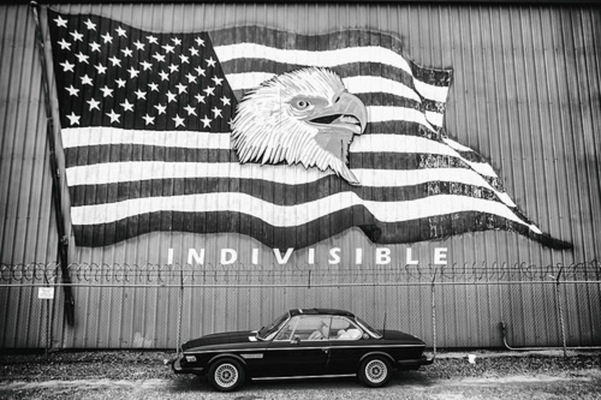 More divided than indivisible.