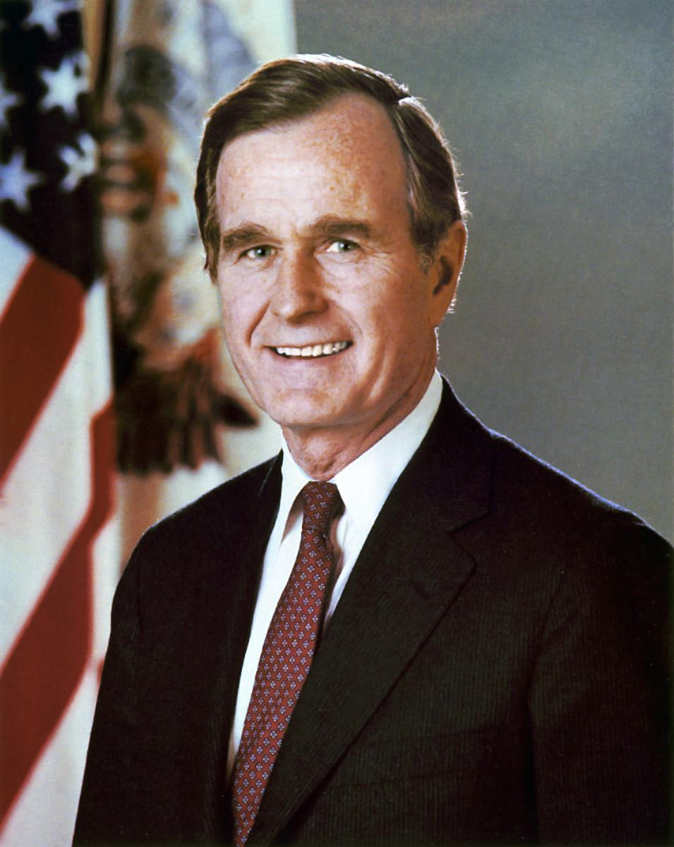 George H. W. Bush: 41st President: President During Desert Storm