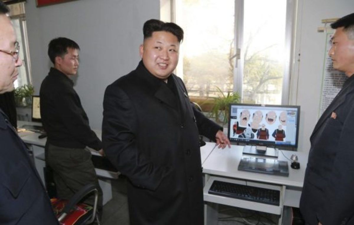 Kim Jong Un witnesses North Korea's technology first hand