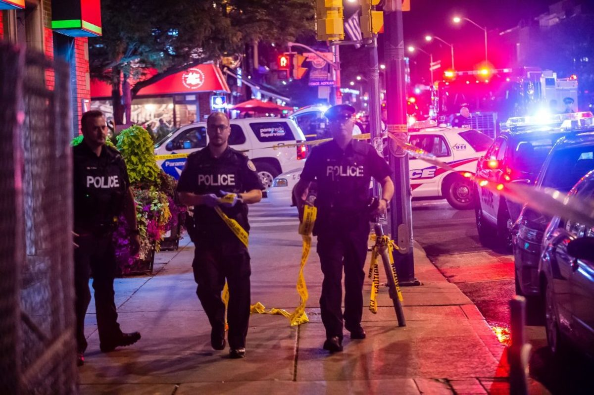 Shooting On The #Danforth:  Too Close