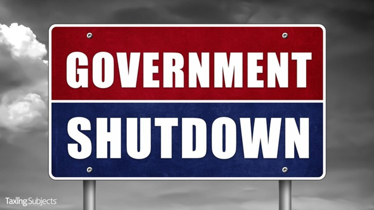 Government Shutdown Affects Everyone - Even You!
