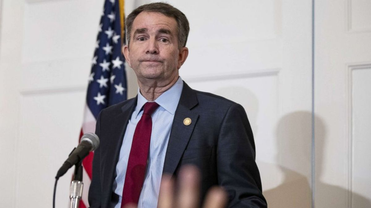 Virginia Governor Ralph Northam