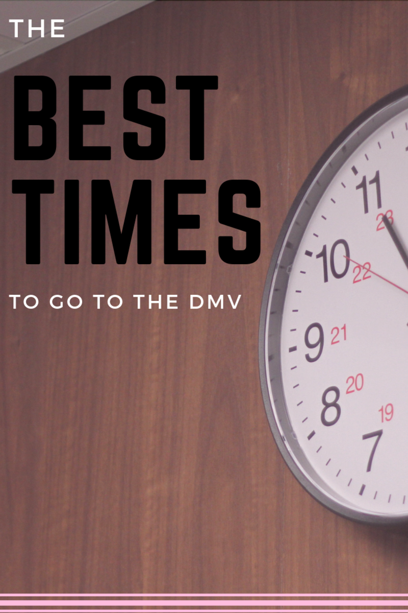 Going to the DMV is a necessity for everyone from time to time, but there are ways to make your trip easier. Learn about the best times to go, plus more tips.