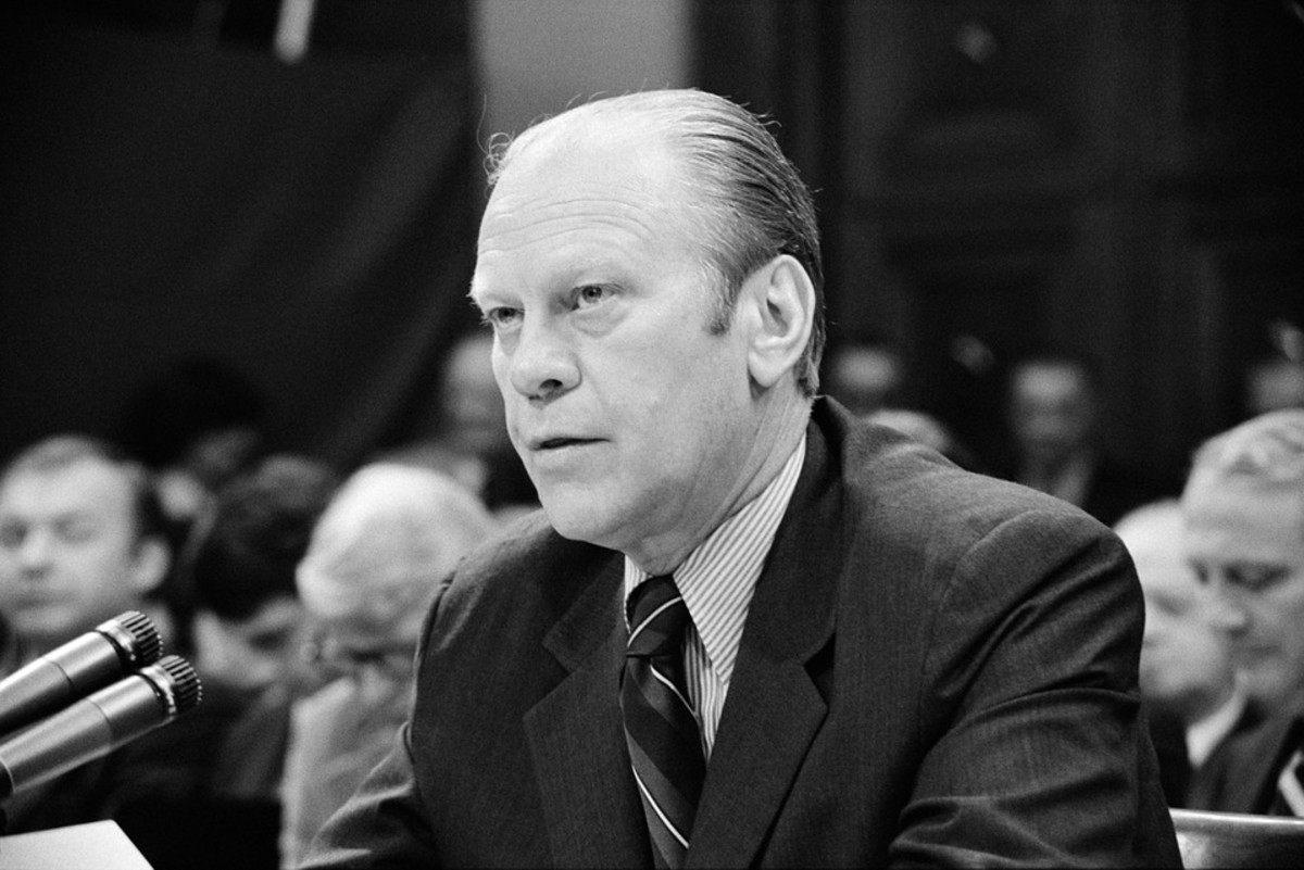 President Gerald Ford, 38th U.S. President