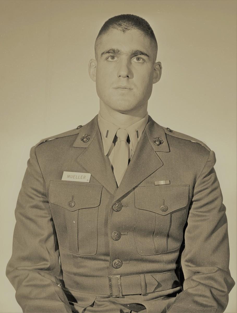 United States Marine, Robert Mueller: Vietnam War Veteran, Robert Mueller awarded a Bronze Star and a Recipient of a Purple Heart. 2 Navy Commendation Medals and a Vietnamese Cross of Gallantry.