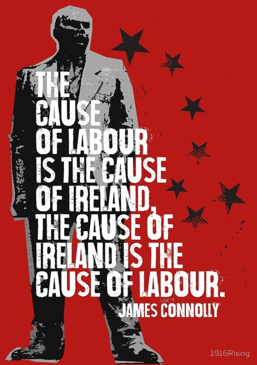 James Connolly - Marxist, Irish Republican Socialist