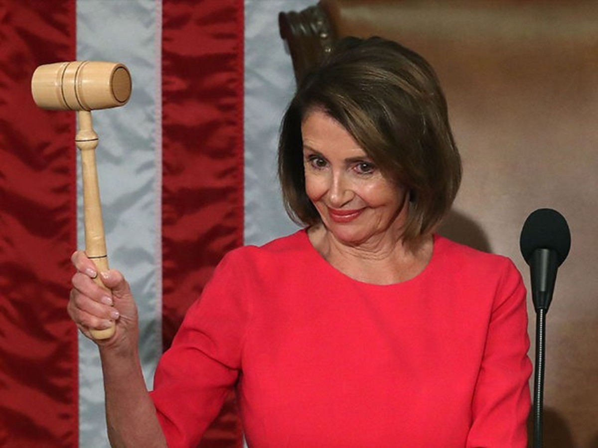 Powerful Pelosi Is a Force to Be Reckoned With