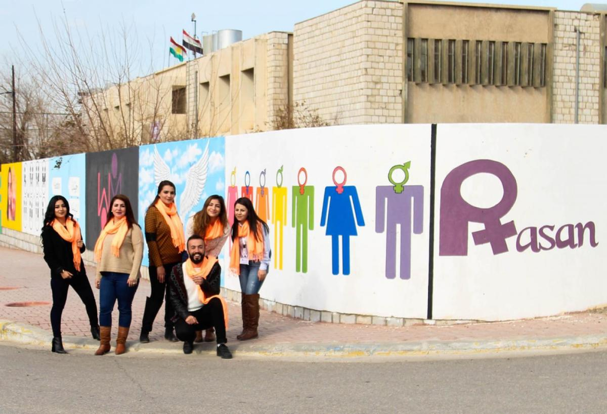 A pro-LGBT organization in the Kurdistan Region of Iraq.