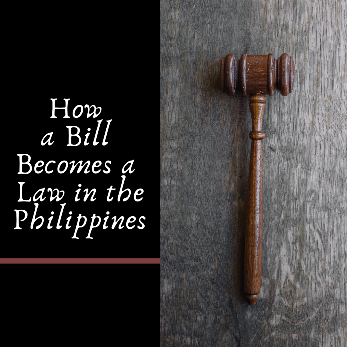 How a Bill Becomes a Law in the Philippines