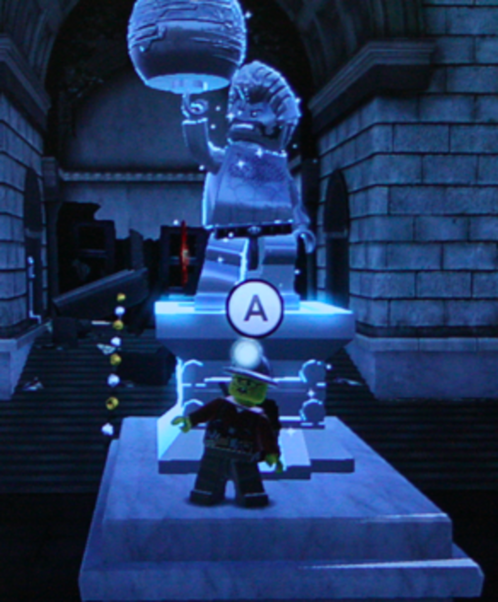 """LEGO City Undercover"" Walkthrough: Silver Statue Locations"