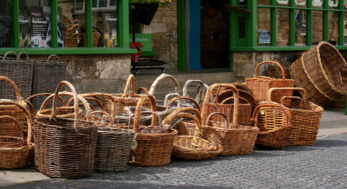 Baskets come in all shapes and sizes.