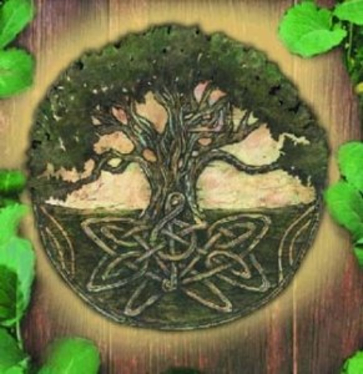 The Celtic tree is a symbol of the eternal renewal of life - an important theme in Celtic mythology.