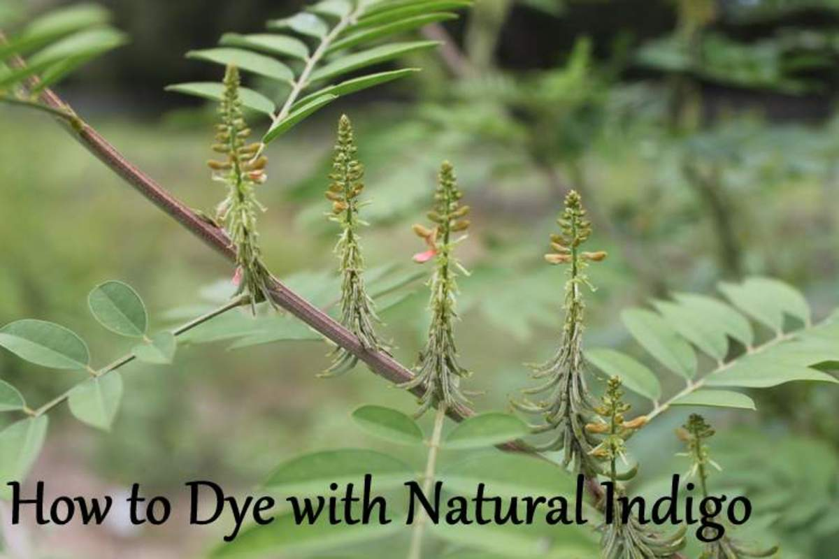 How to Dye Natural Fabric with Natural Indigo Powder