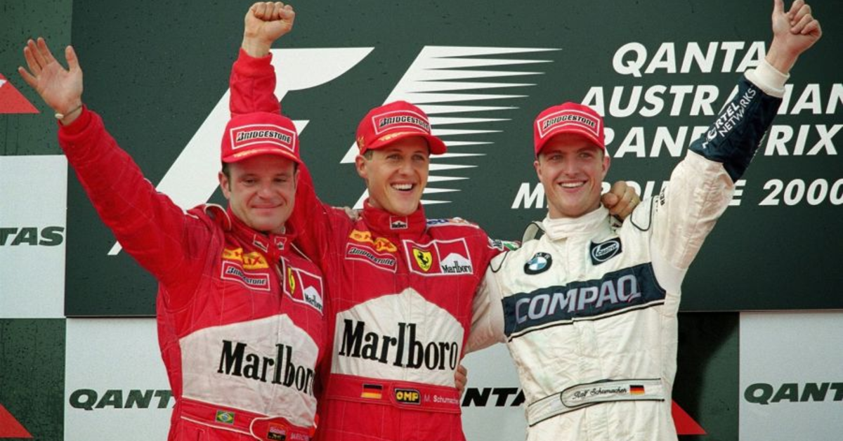 The 2000 Australian GP: Michael Schumacher's 36th Career Win
