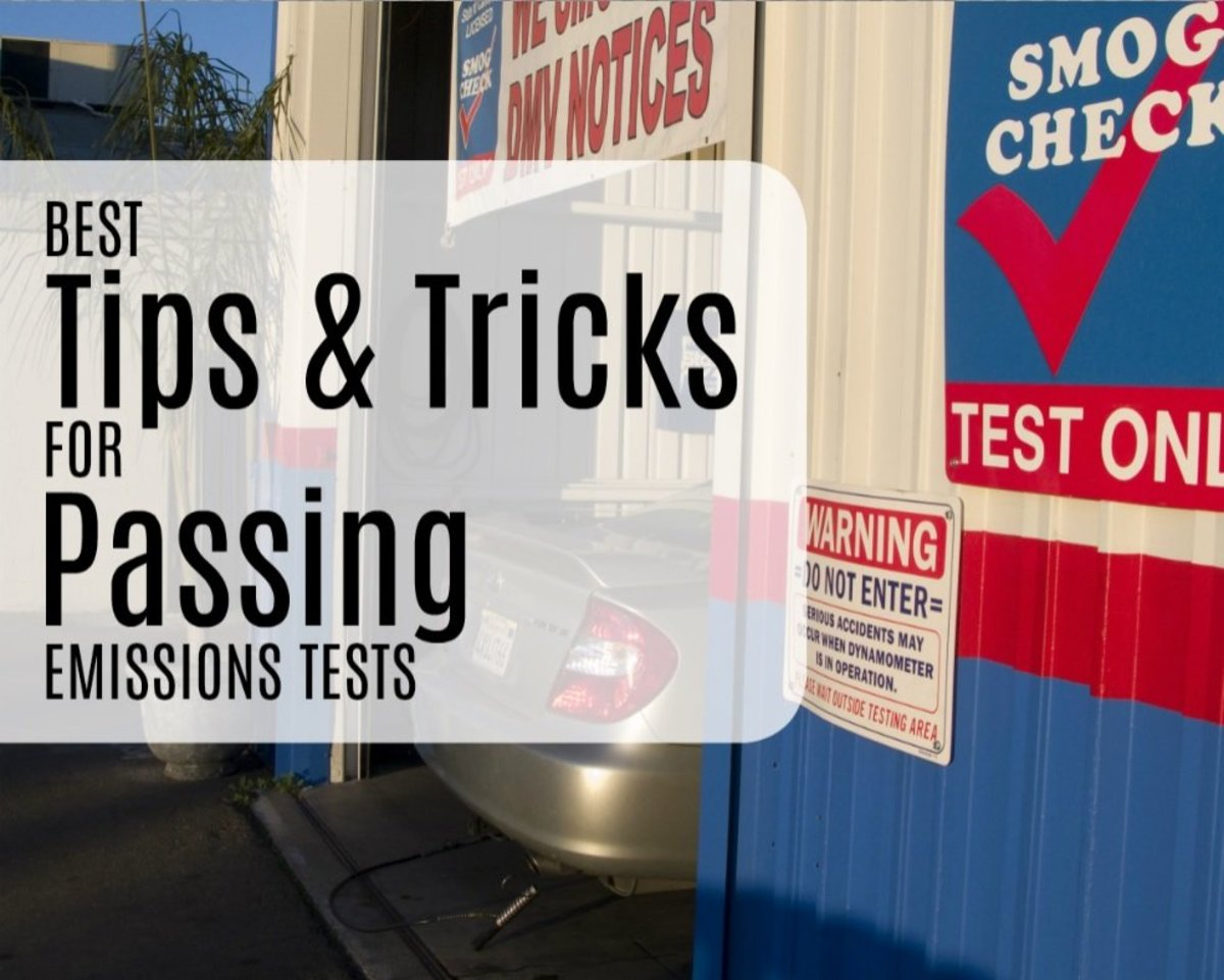 Tricks to Passing an Emissions (Smog) Test