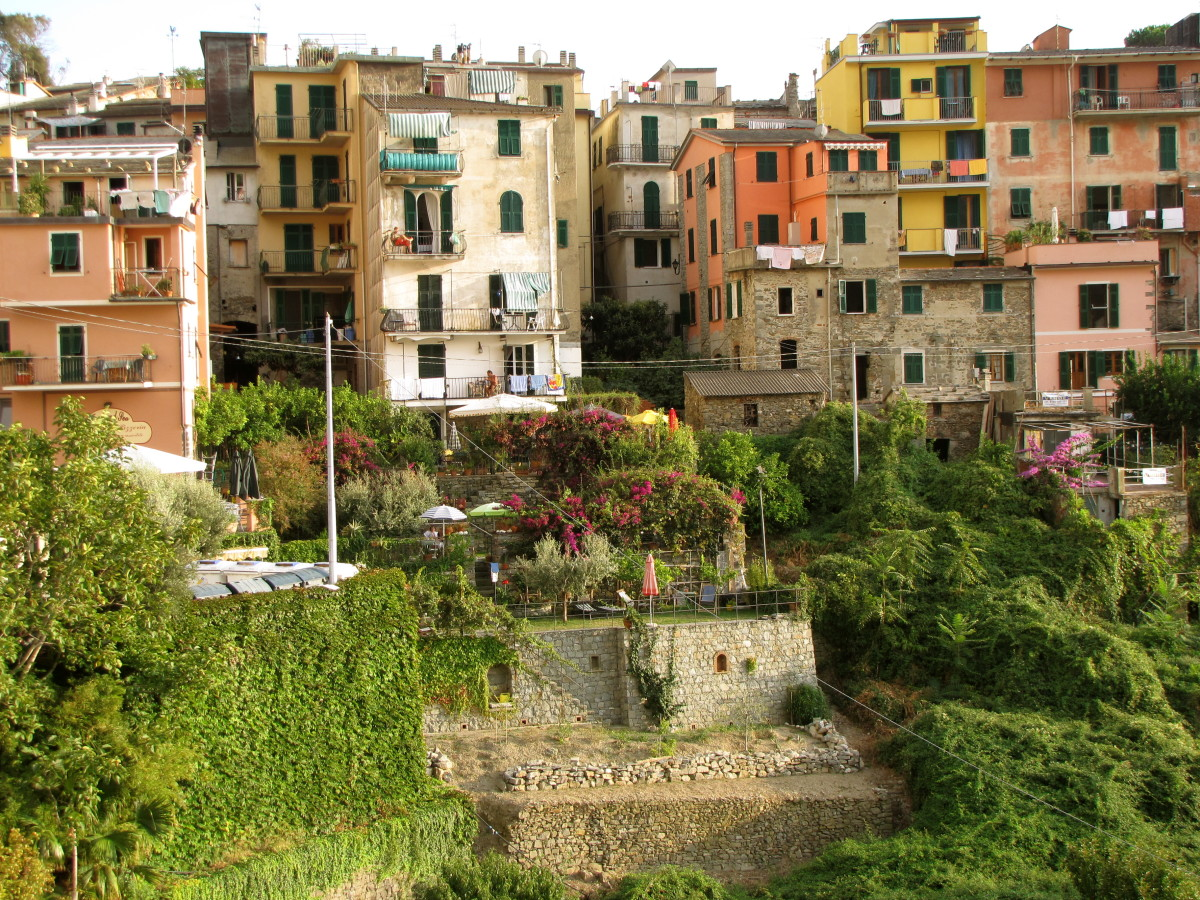 Visiting Corniglia:  Cinque Terre, Italy