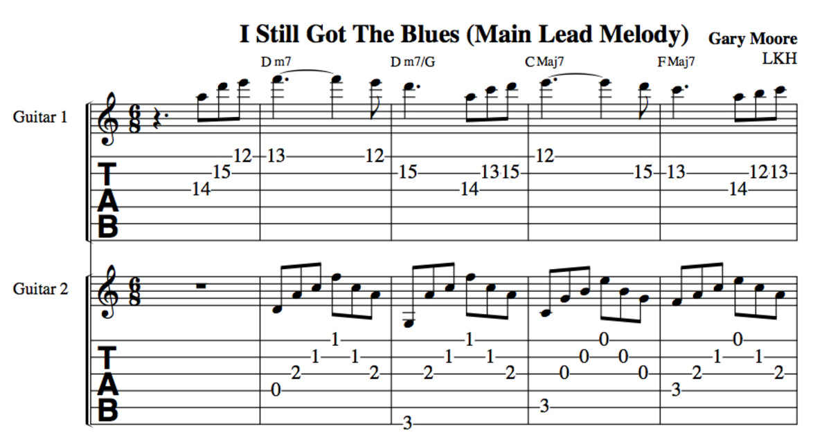 Blues Guitar Lesson • Gary Moore\'s \