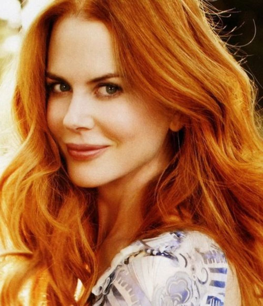 Nicole Kidman, award winning actress