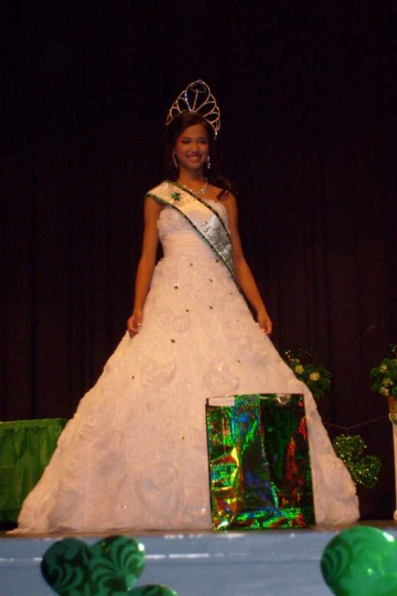 Cheap pageant gowns can be hard - but not impossible - to find.