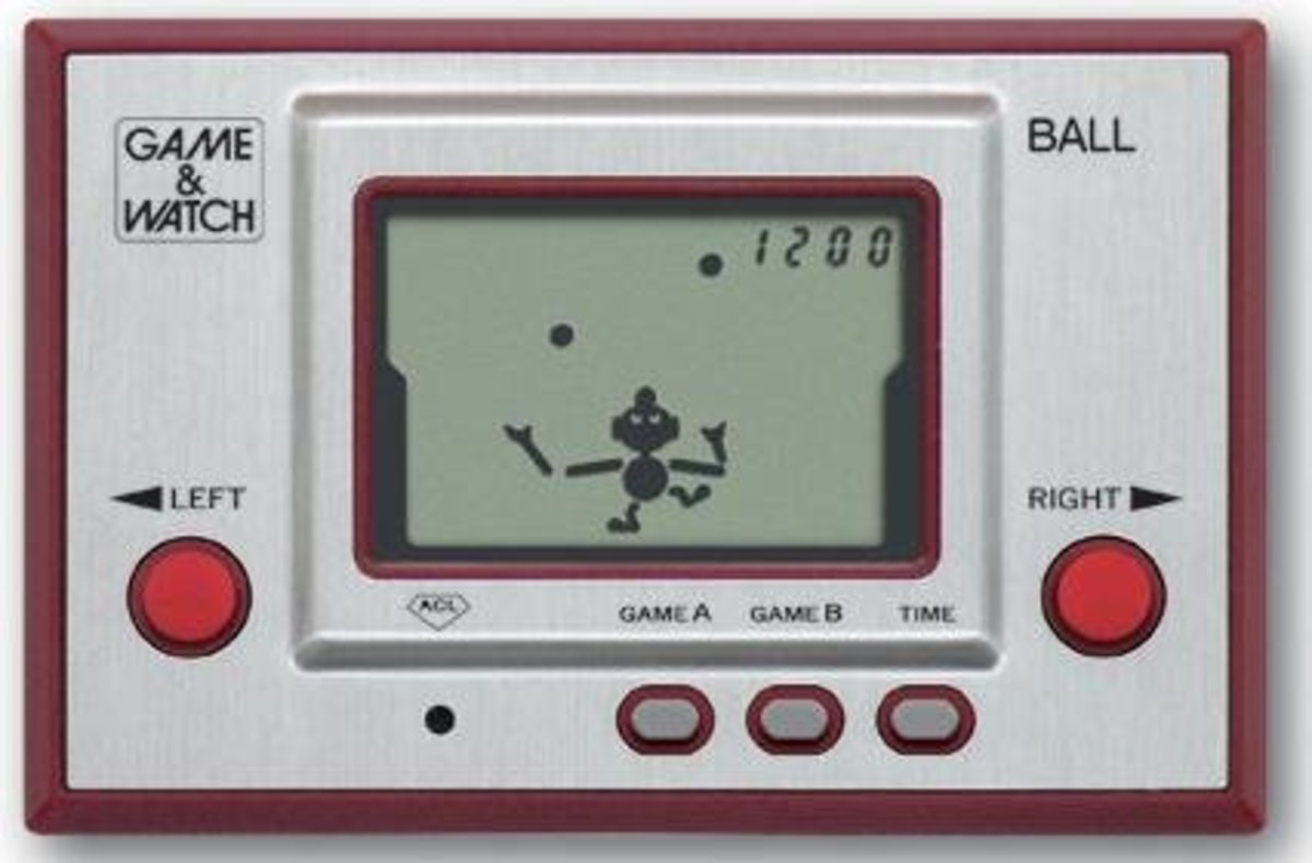 A Guide to the Nintendo Game & Watch Handheld Games - Classic 80's Retro