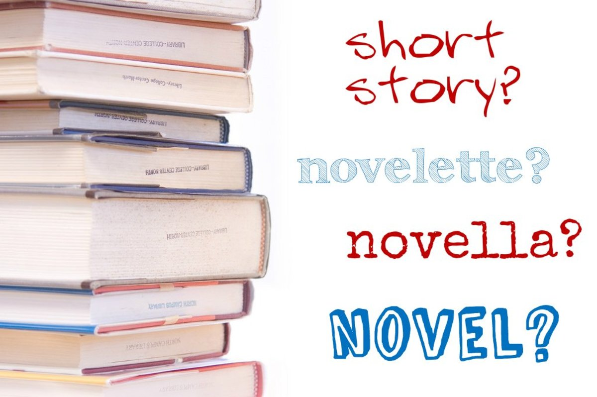 Differences Between a Short Story, Novelette, Novella, & a Novel