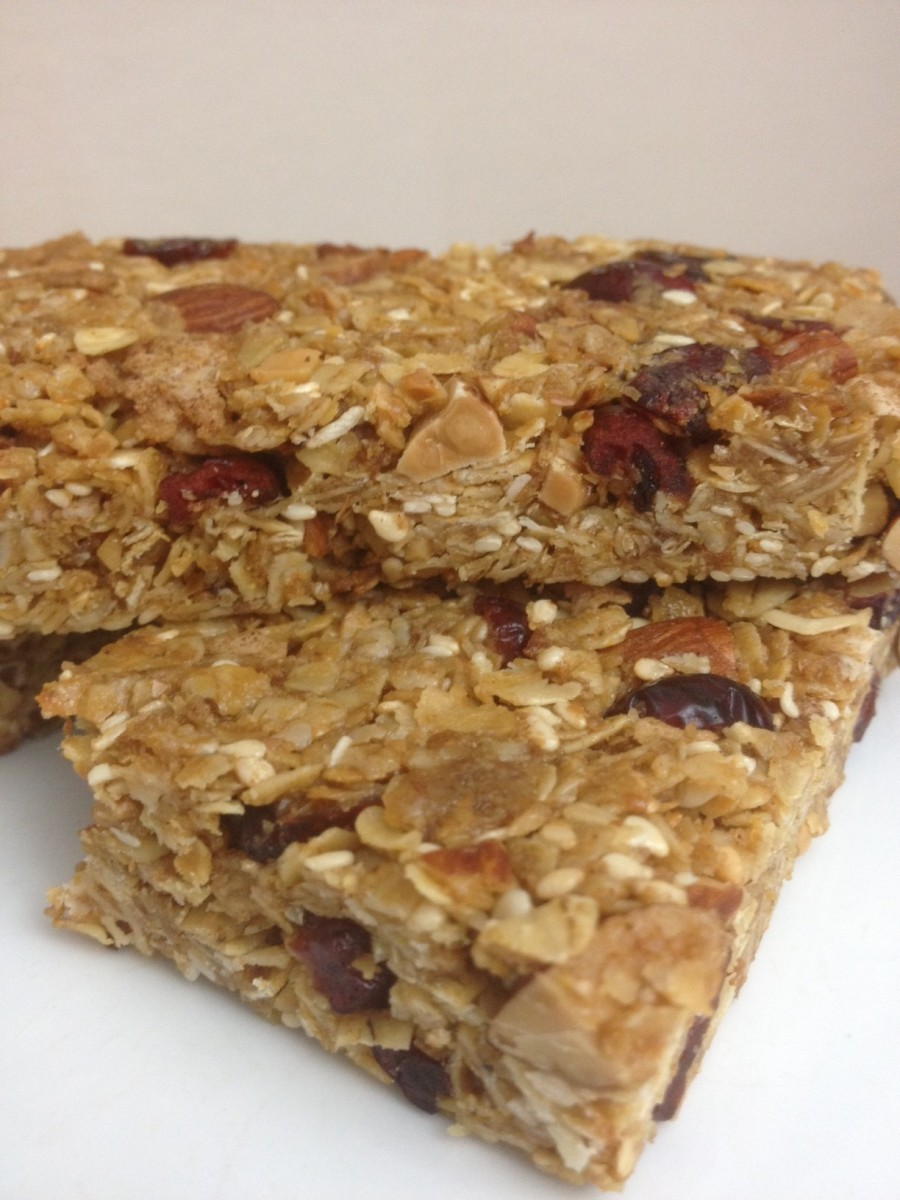 Homemade and Healthy Granola Energy Bars