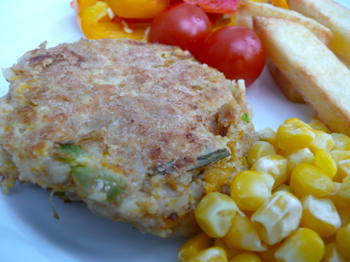 Leftover Risotto Burger Recipe to Make with Kids