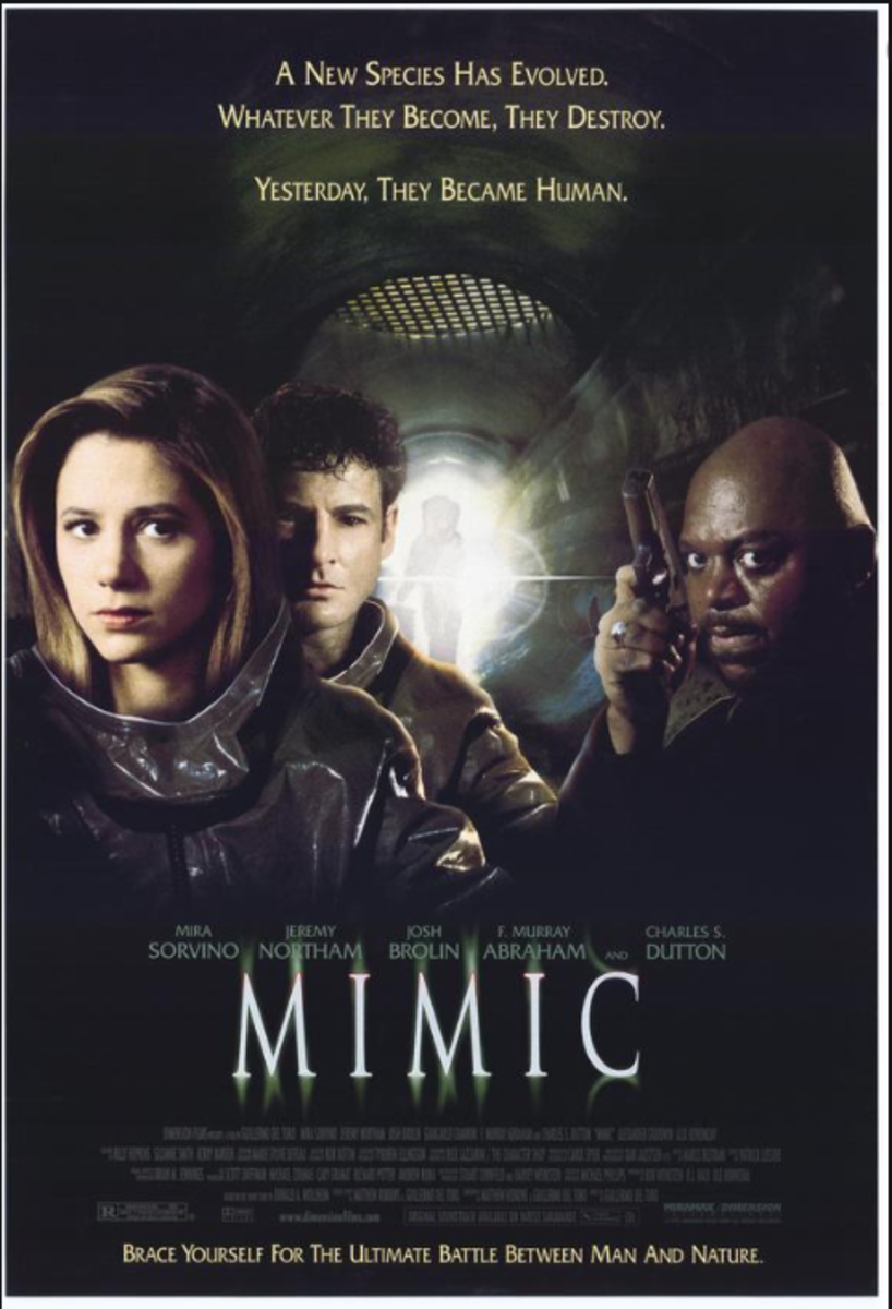 """Mimic"" theatrical release poster"