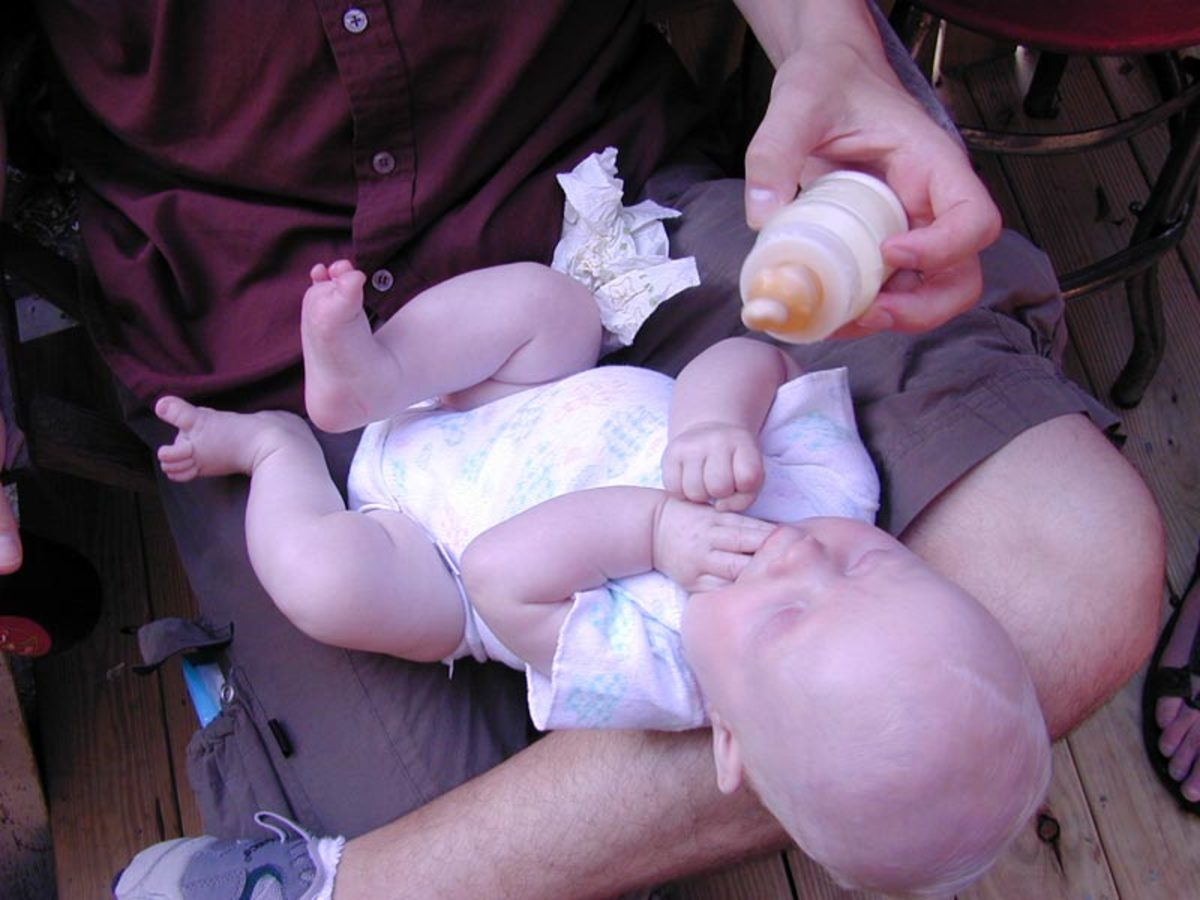 Bottle fed babies are more likely to become obese adults.