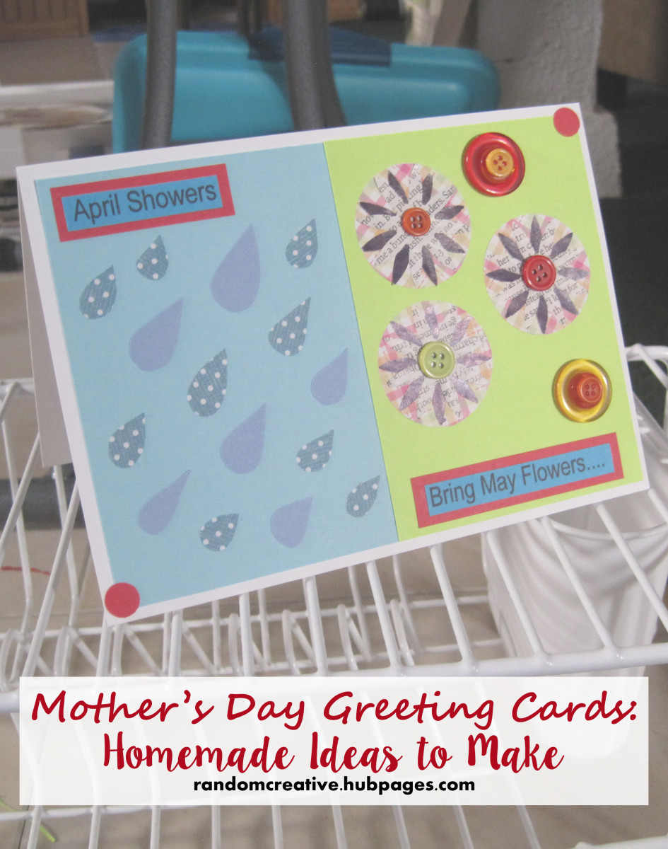 Mother's Day Greeting Cards: Homemade Ideas to Make