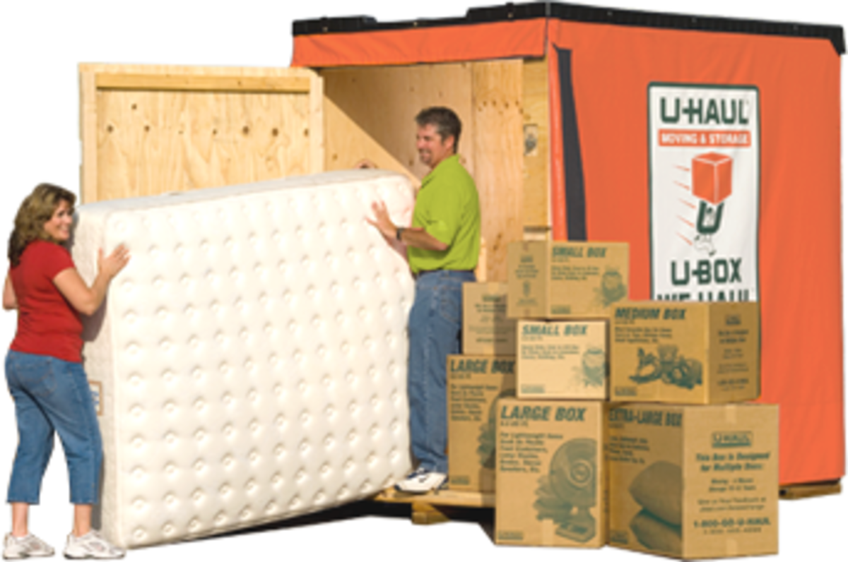 Discover some of the pros and cons of using the U-Haul U-Box to move.