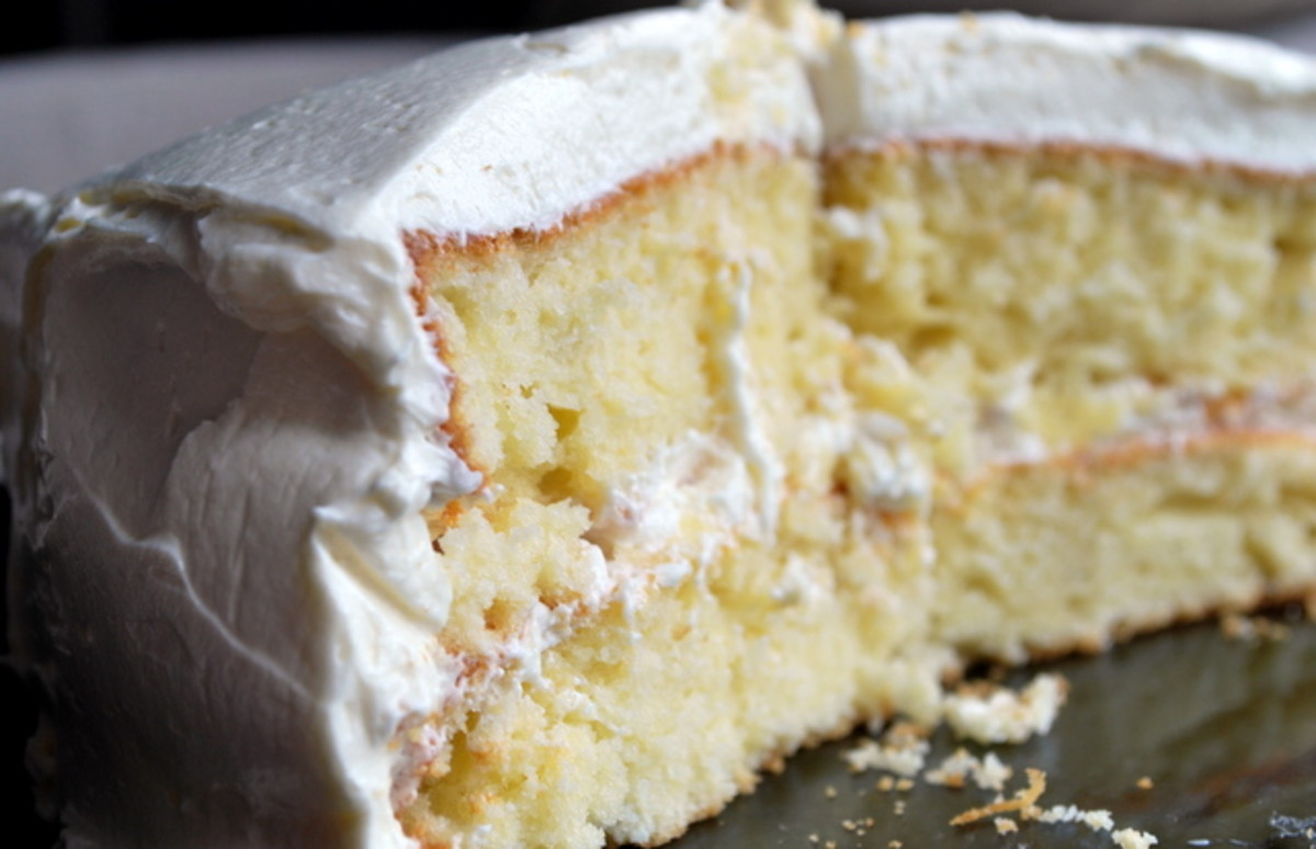 process essay how to make a cake