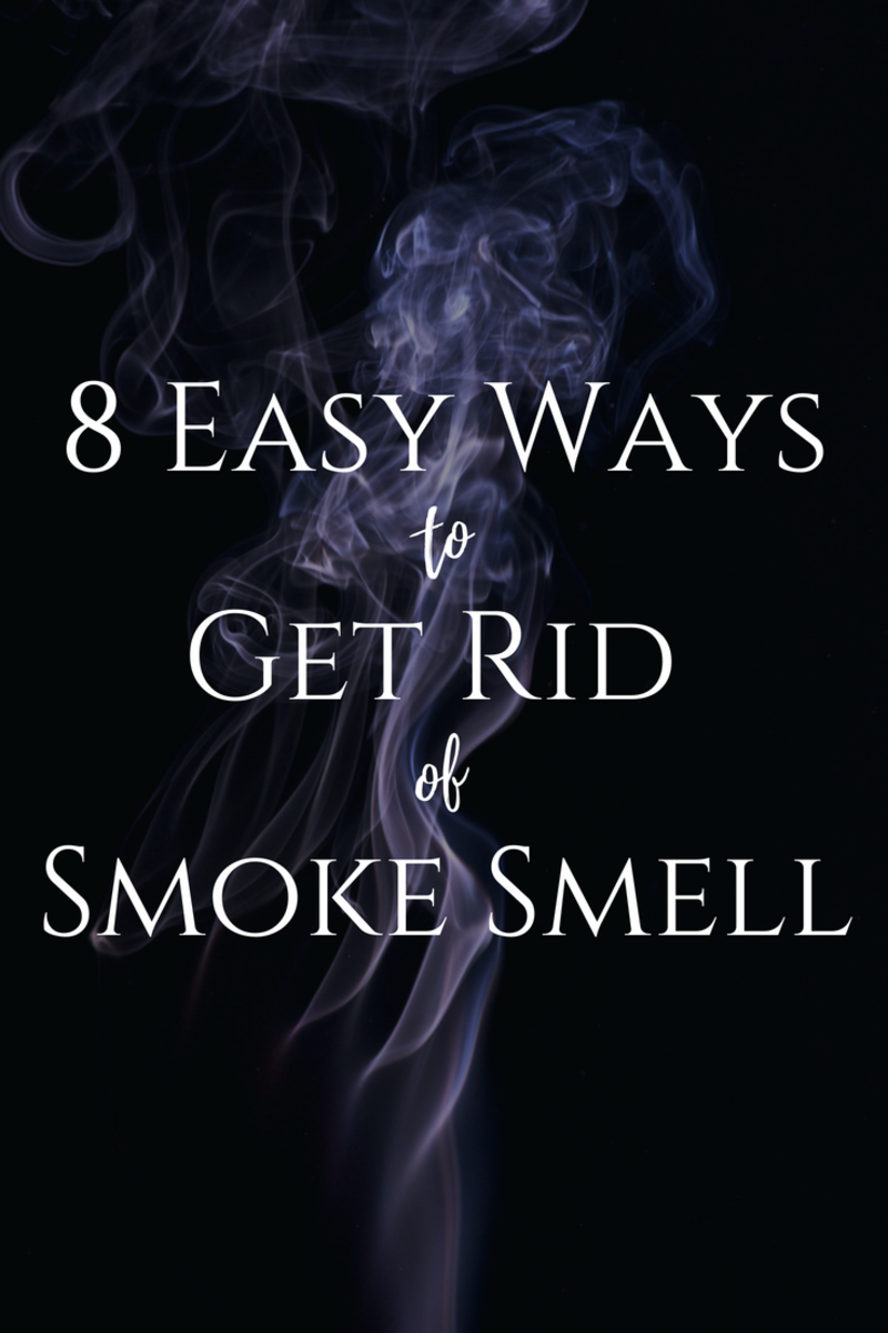 How to Get Rid of Smoke Smell and Other Bad Odors