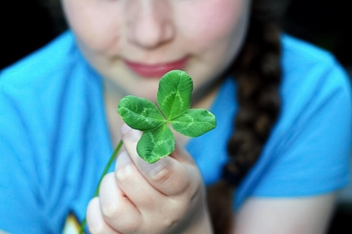 Finding a four-leaf clover is considered to be a lucky accident; so is experiencing serendipity.
