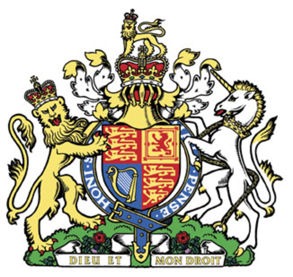 The British Royal Warrant symbol issued by Queen Elizabeth II
