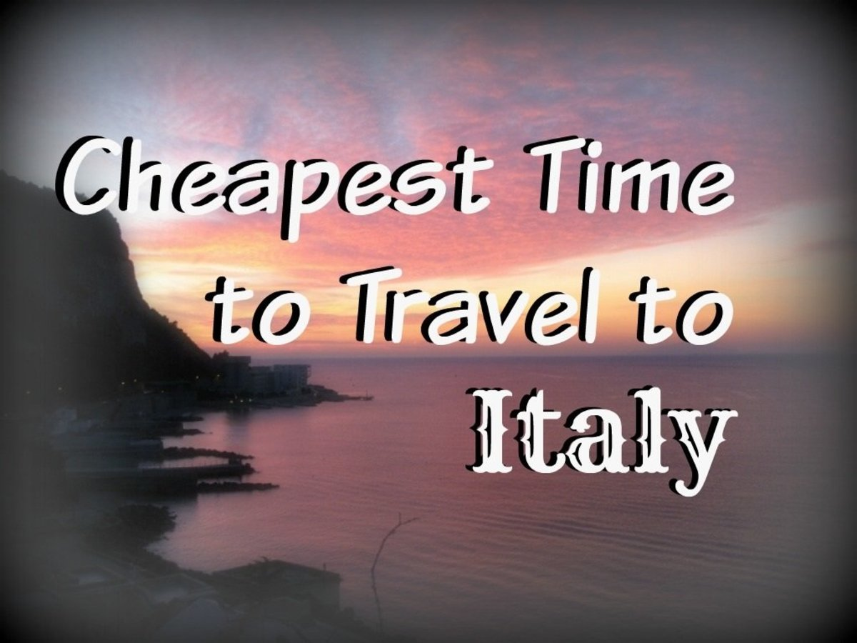 Cheapest Time to Travel to Italy