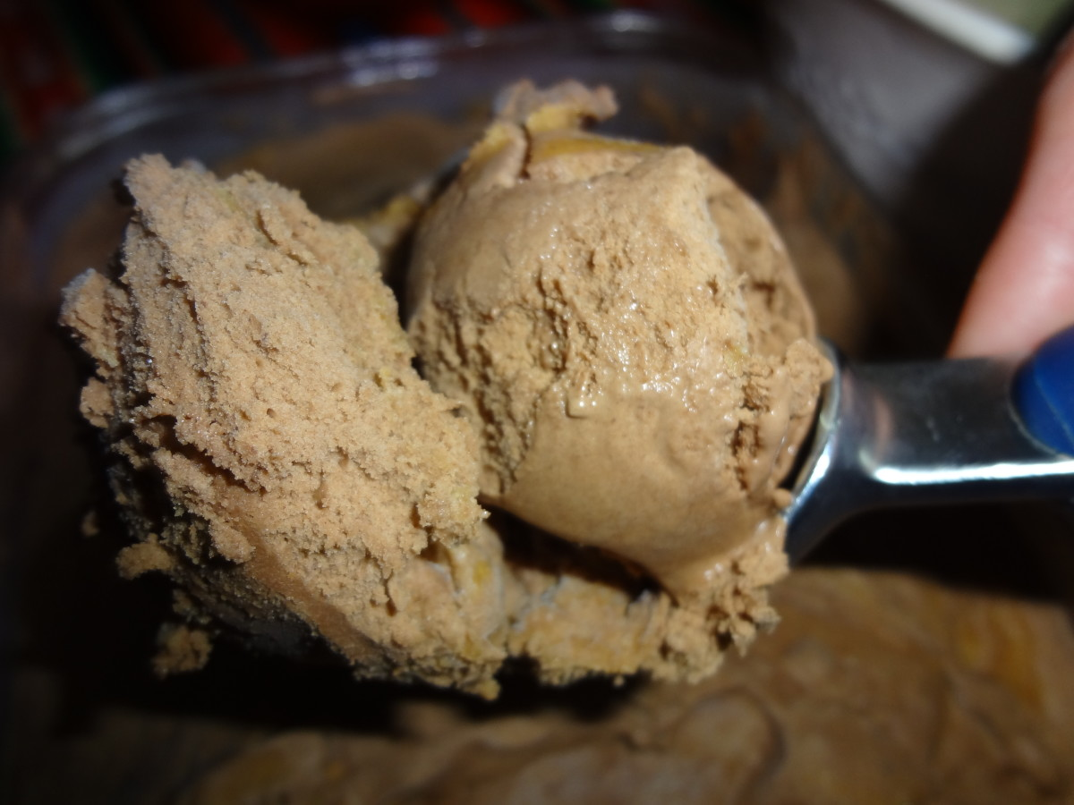 Chocolate Peanut Butter Ice Cream With Homemade Waffle Cones Recipe