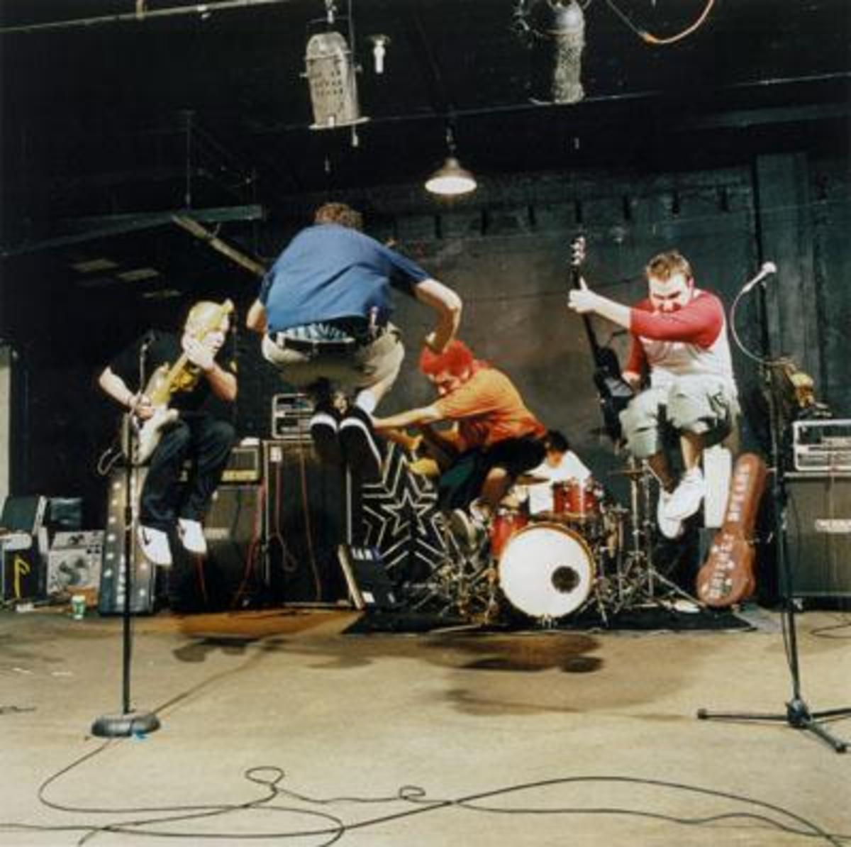 New Found Glory, a popular pop-punk band.