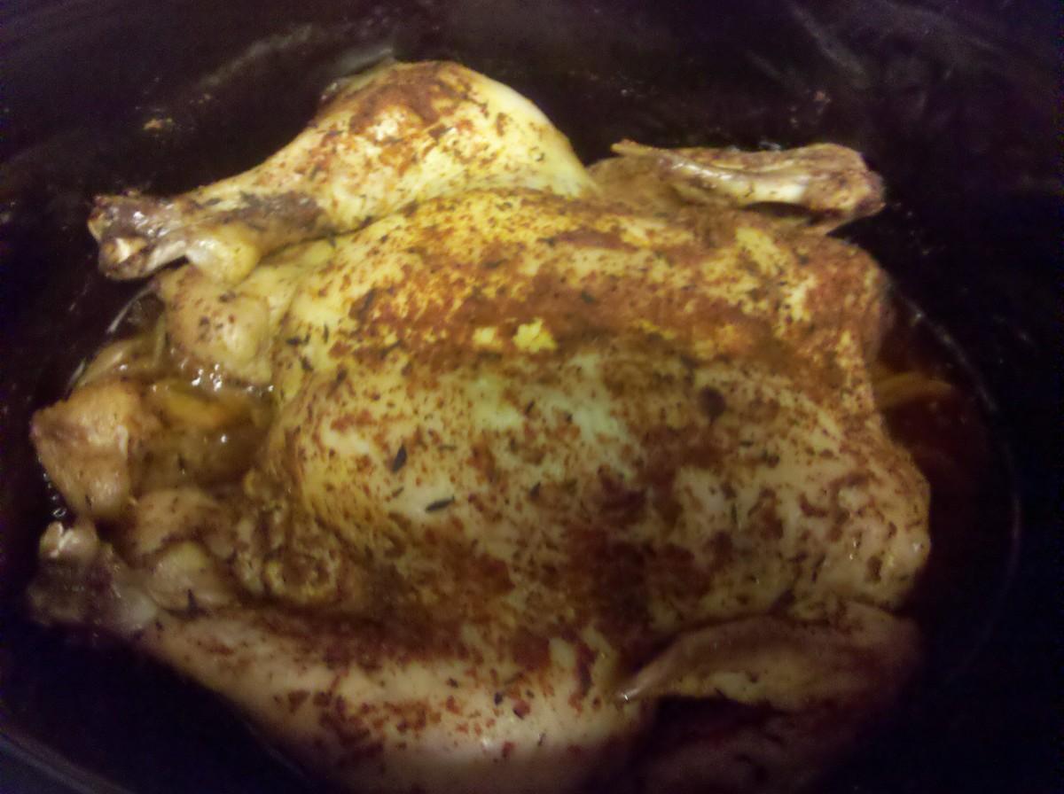 Easy Crockpot Rotisserie Chicken Recipe