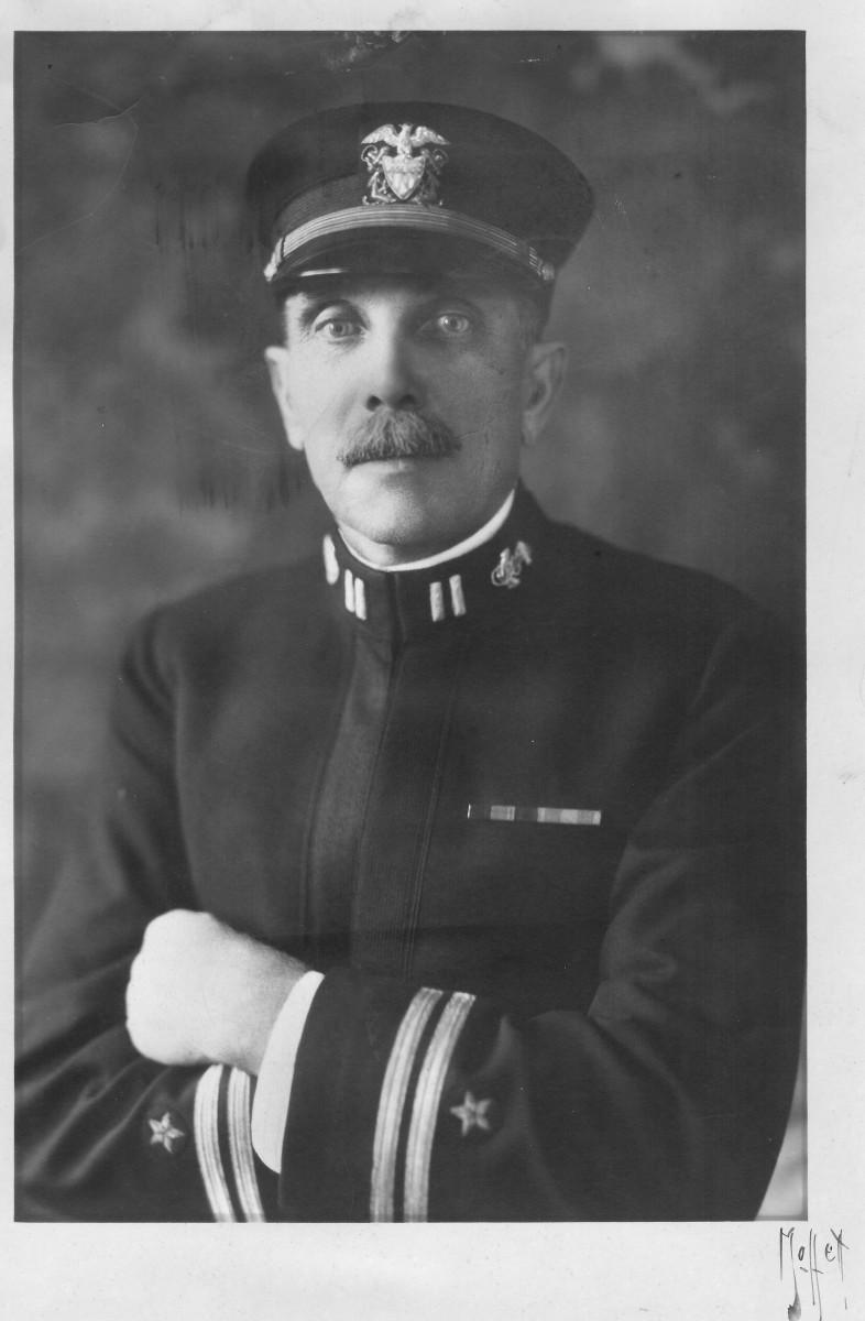 Lt. H.E. Olsen in 1917