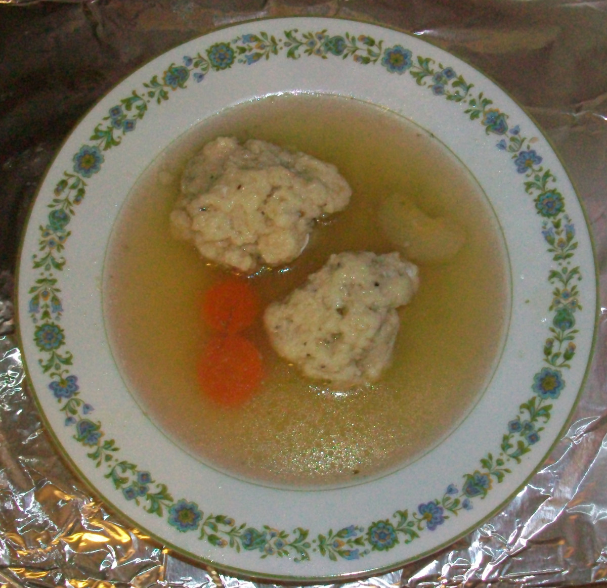 Serve with matzo balls for an authentic Jewish culinary experience.