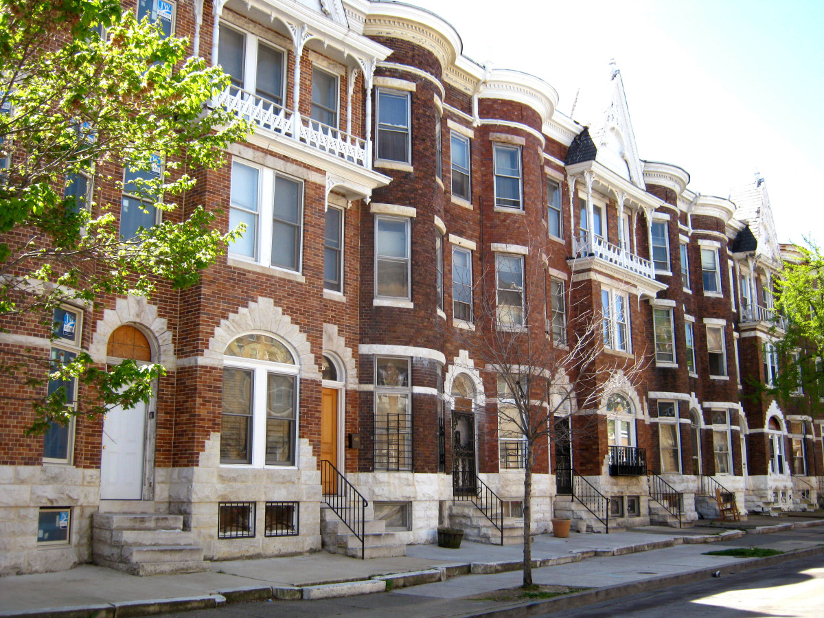 The History of Baltimore Rowhouses